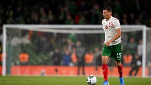 Vasil Bozhikov of Bulgaria in action at Aviva Stadium in 2019