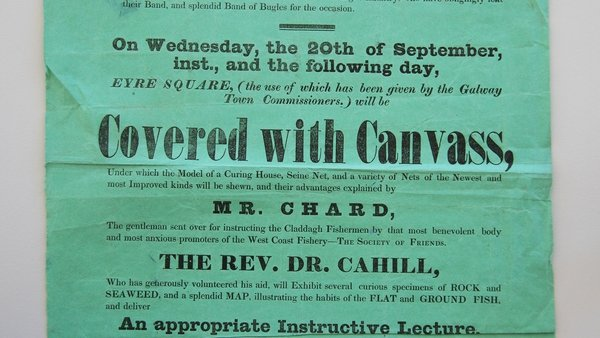 A pamphlet advertising a workshop organised by Mr Chard.
