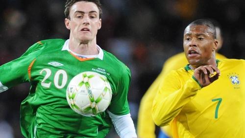 Darren Potter won the last of his five Ireland caps against Brazil in 2008