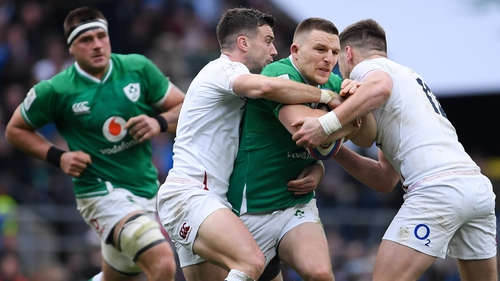 Andrew Conway has featured for Ireland on two previous occasions at Twickenham