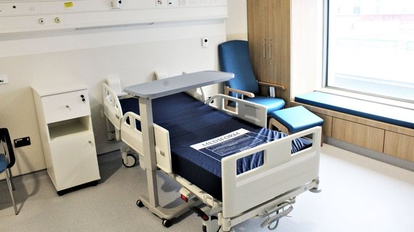 The new unit is designed to relieve congestion at one of the busiest acute hospitals in the country