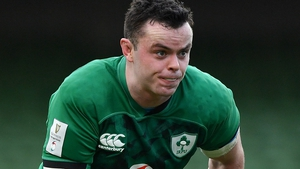 James Ryan will lead Ireland for the first time