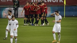 The victory saw Spain finish top of League A4 with 11 points after six games