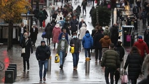 Buchanan Street in Glasgow, one of the areas moving to stricter virus measures from Friday