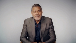 """George Clooney: """"We're all good friends. And I thought, you know, without them I don't have any of this."""""""