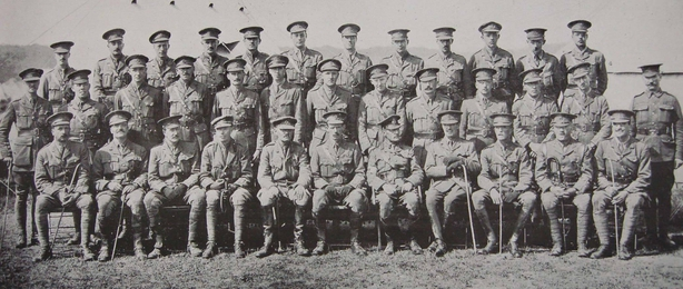 Officers of the 5th Battalion of the Connaught Rangers Photo: Irish Life