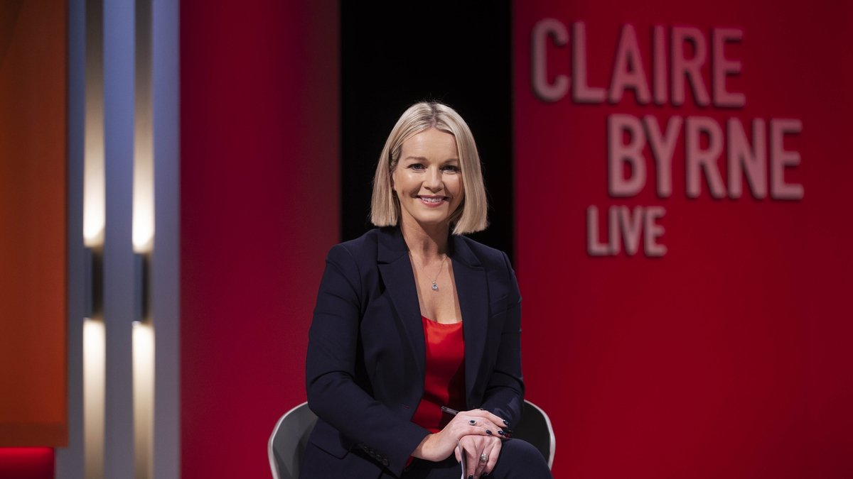 Claire Byrne Live is on RTÉ One on Monday nights at 10:35pm