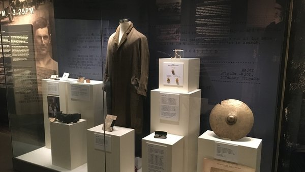 Tom Hogan's coat and other exhibits from the GAA Museum