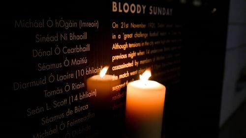 The Bloody Sunday memorial in Croke Park