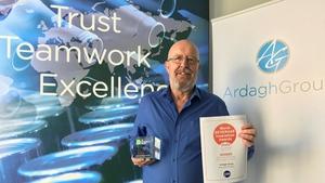 Brendan O'Meara, from Ardagh's European Glass Cullet team