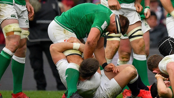CJ Stander in action against England in February