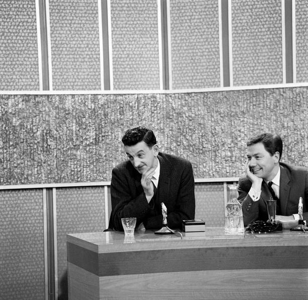 John B Keane on 'The Late Late Show' (1965)