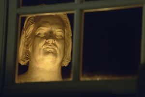 Bust of Balzac by David d'Angers. (Photo by Pascal Le Segretain/Sygma via Getty Images)