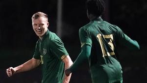 Jamie Lennon and JJ Kayode both found the net for Ireland in Beggen