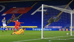 Harry Wilson opens the scoring in Cardiff