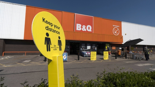 Kingfisher, which owns B&Q, is seeing a Covid-19 pandemic do-it-yourself boom