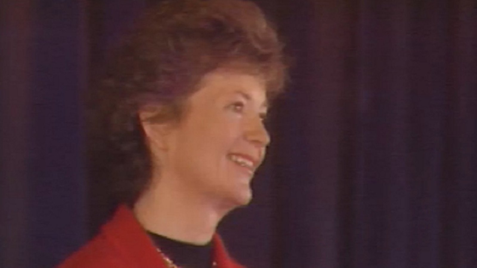Image - President Mary Robinson in the 1990s. Robinston frequently mentioned in the Famine during her human rights and diaspora-related work