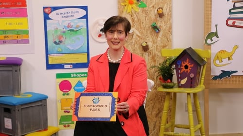 This Friday's After School Hub will be extra special asEducation Minister Norma Foley will be dropping by to issue a no homework pass to the children of Ireland.