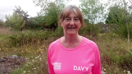 "Bríd Ní Chumhail on a charity walk: ""I had a very easy time, for which I feel a bit guilty but certainly extremely grateful."""