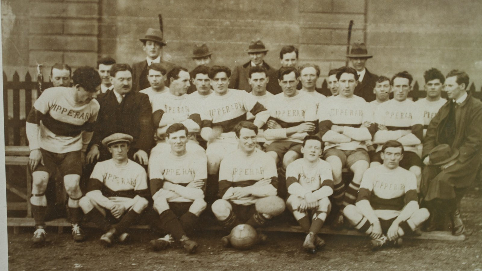 Image - Tipperary team, Croke Park 21 November 1920 (Credit: GAA Museum, Croke Park)