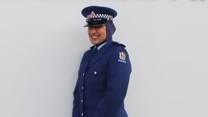 Constable Zeena Ali had the opportunity to trial several versions of the hijab before she began her police training
