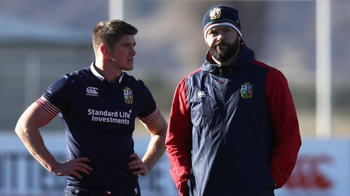 'He has put his own stamp on it a bit, with a lot that's been learnt while being involved with Ireland before he took over'
