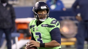 Russell Wilson threw two touchdown passes