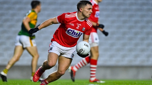 Sean Powter in action against Kerry
