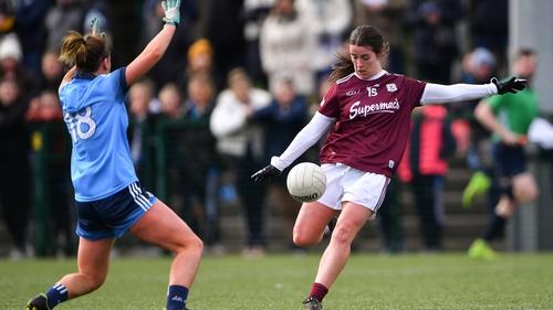 Róisín Leonard in action against Dublin during the 2020 Lidl Ladies National Football League