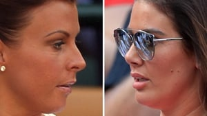 Rebekah Vardy (right) is suing Coleen Rooney for libel