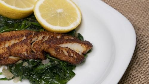 Martin's latest fish dish.