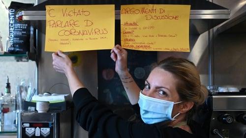 Cristina Mattioli the idea is to give people a break from coronavirus