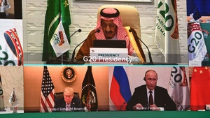 World leaders are huddling virtually for this year's G20 summit