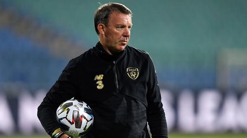 Republic of Ireland goalkeeping coach Alan Kelly