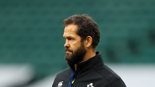 'We're on a different journey,' said the Ireland head coach