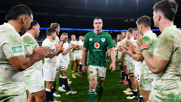 James Ryan's first outing as captain was not a happy one