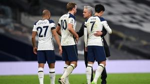 Jose Mourinho's side were 2-0 winners over Manchester City