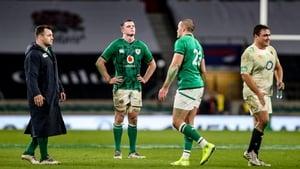 The Irish skipper takes it all in after the Twickenham loss