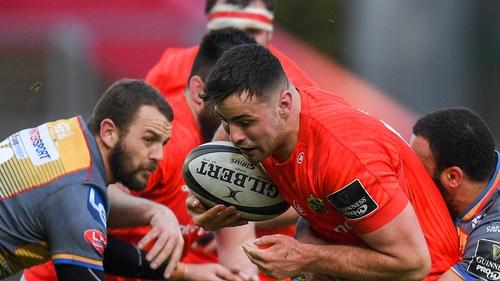 Jack O'Sullivan will make a first start for Munster