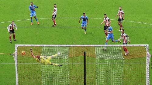 Sebastien Haller's emphatic finish was enough for West Ham