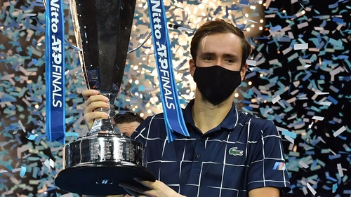 Daniil Medvedev came from a set down to beat Dominic Thiem