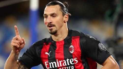 Zlatan Ibrahimovic has scored 11 goals in 10 appearances this season