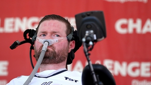 Patrick Quinn, from New York state, was diagnosed with ALS in 2013