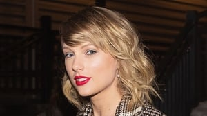 Taylor Swift accepted her award remotely