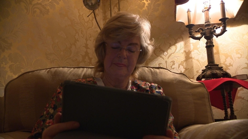 Mary Dunne has embraced technology in recent years
