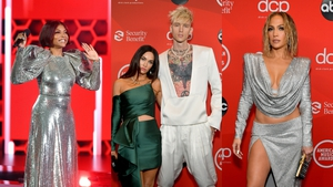 With sparkles, reds, greens and golds on show, celebrity style was Christmas party ready.