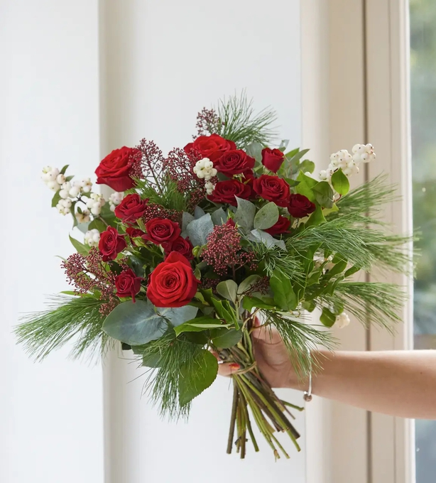 Add clippings from your own garden for a beautiful bouquet (Interflora/PA)
