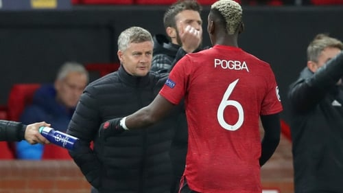 Pogba was not in the United squad for Saturday's win over WBA