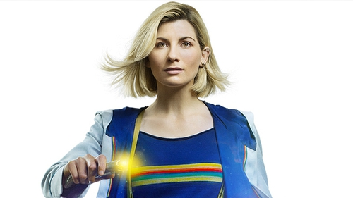 Jodie as Whittaker as Doctor Who