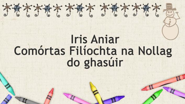 Comórtas Filíochta na Nollag ar Iris Aniar